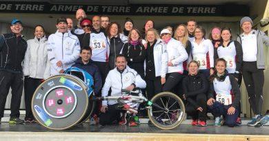 Ekiden du CNSD de Fontainebleau le 26 novembre 2017