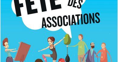 Fête des associations le samedi 7 septembre 2019