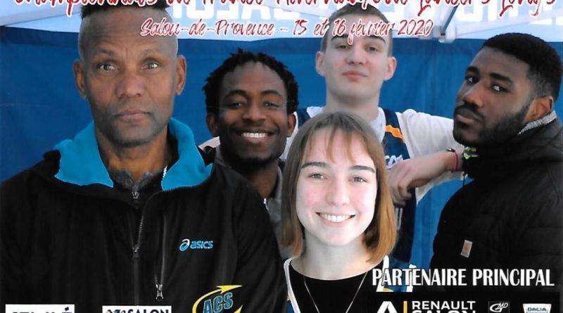 Championnat de France des lancers longs à Salon de Provence le 15/02/2020